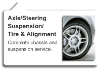 Axle Steering Suspension Repair