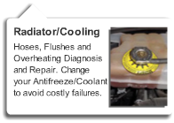 Radiator Cooling System Repair
